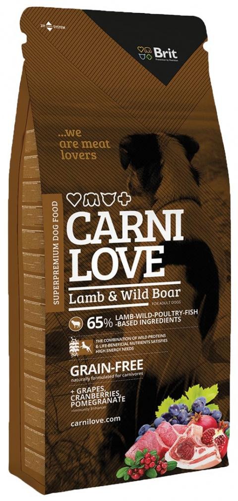 CARNILOVE Lamb and Wild Boar 12kg