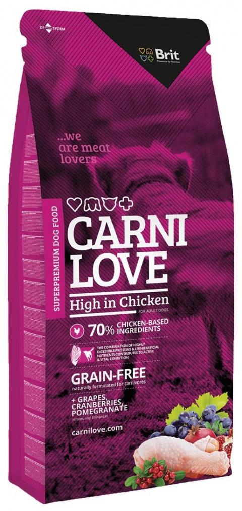 CARNILOVE High in Chicken 12kg