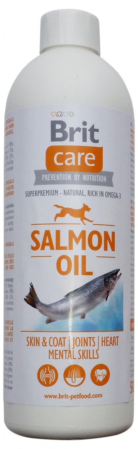 Lososový olej BRIT Care Salmon Oil 500ml title=
