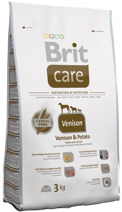 BRIT Care Adult Venison All Breed 3kg