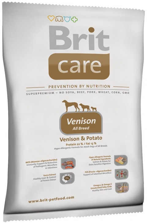 BRIT Care Adult Venison All Breed 1kg