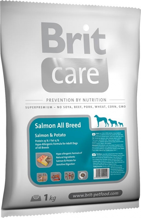 BRIT Care Adult Salmon All Breed 1kg