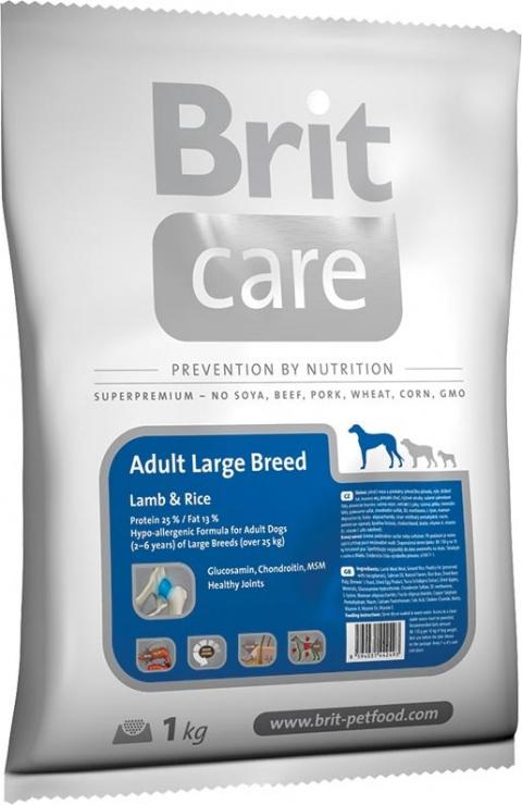 BRIT Care Adult Large Breed Lamb & Rice 1kg