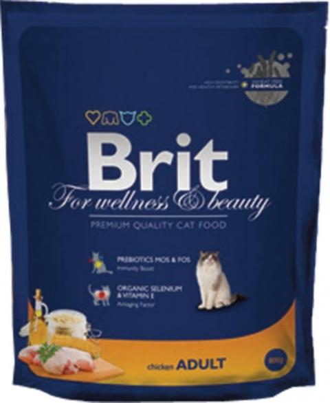 BRIT Premium Cat Chicken 800g