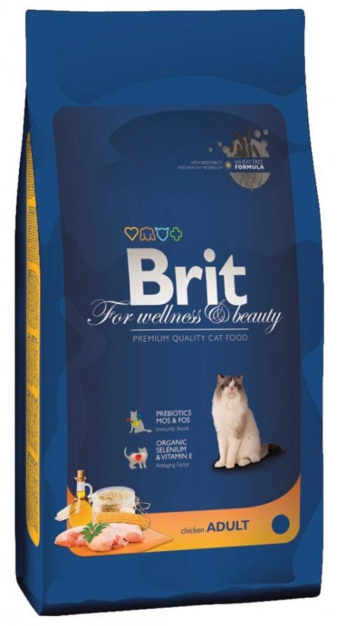 BRIT Premium Cat Chicken 1,5kg