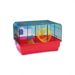 Klec Small Animals CHS1 černá + červená