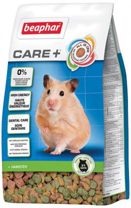 Krmivo Beaphar CARE+ Křeček 250 g + Beaphar Care věrnostní karta + Beaphar Care nálepka