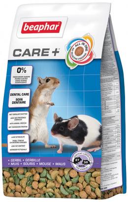 Krmivo Beaphar CARE+ Pískomil 250 g + Beaphar Care věrnostní karta + Beaphar Care nálepka