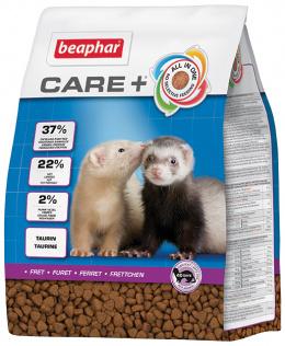 Krmivo CARE + fretka 2 kg + Beaphar Care věrnostní karta + Beaphar Care nálepka