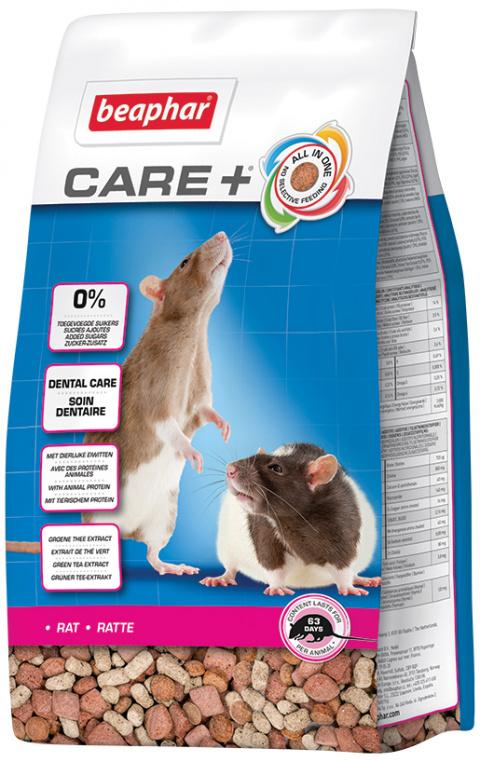Krmivo Beaphar CARE+ Potkan 700 g + Beaphar Care nálepka title=