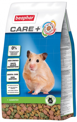 Krmivo Beaphar CARE+ Křeček 700 g + Beaphar Care věrnostní karta + Beaphar Care nálepka