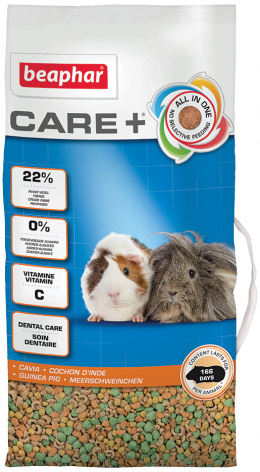 Krmivo Beaphar CARE+ Morče 5 kg + Beaphar Care věrnostní karta + Beaphar Care nálepka