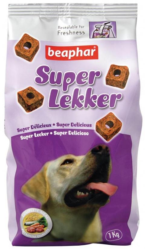 Krmivo Beaphar Super Lekker 1 kg title=