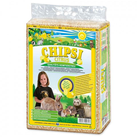 Hobliny JRS Chipsi citrus 3.6kg title=