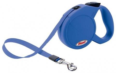 Vodítko FLEXI Compact Mini modré