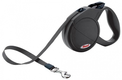 Vodítko FLEXI Compact 1 černé
