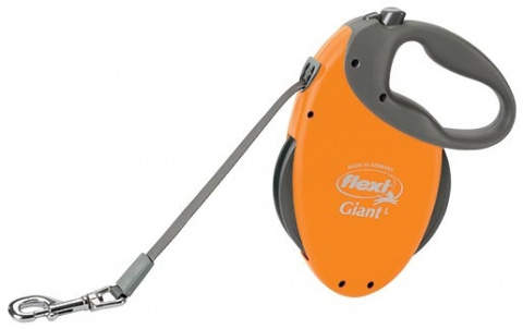 Vodítko FLEXI Giant oranžové L