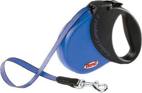 Vodítko FLEXI Comfort Compact 1 modré