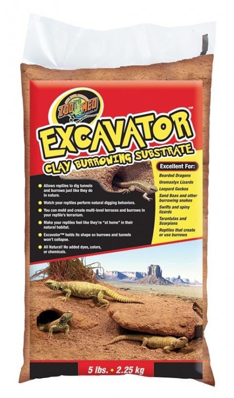 Písek tvarovací ZOO MED Excavator Sand 2,5kg