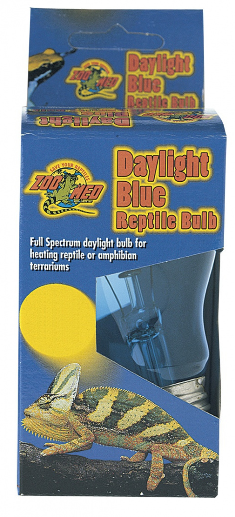 Žárovka ZOO MED modrá denní 40W
