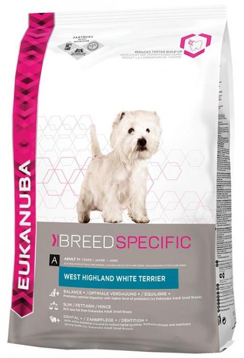 Eukanuba West Highland White Terrier 7,5kg