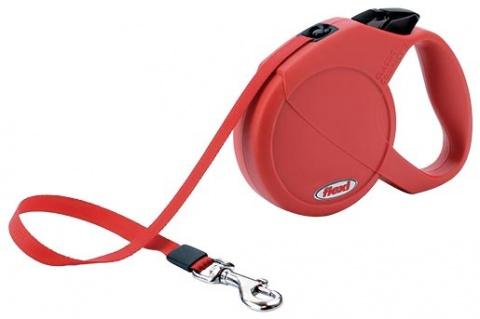 Vodítko FLEXI Compact červené M