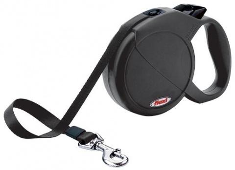 Vodítko FLEXI Compact 3 černé