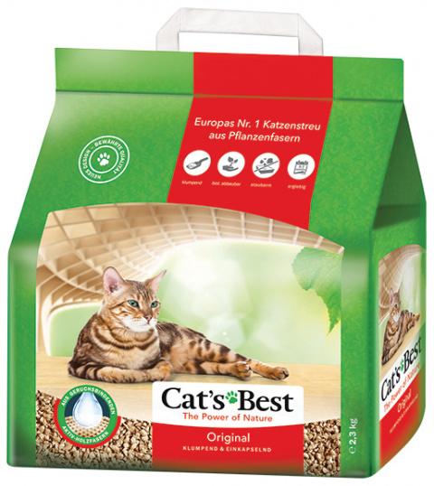 Kočkolit JRS Cats Best ÖkoPlus 5l