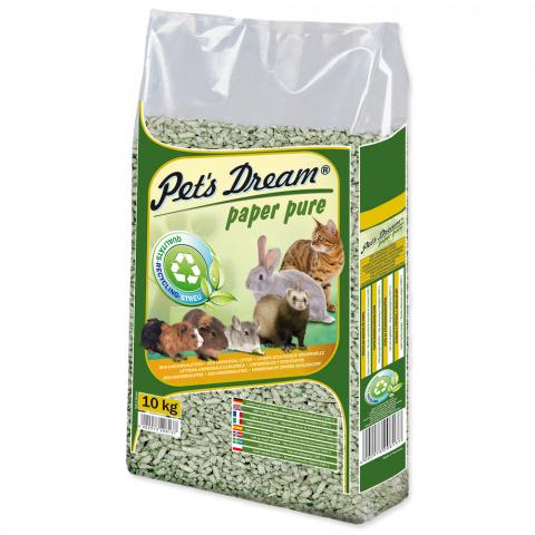 Pelety JRS Pet´s Dream Paper Pure 10kg title=