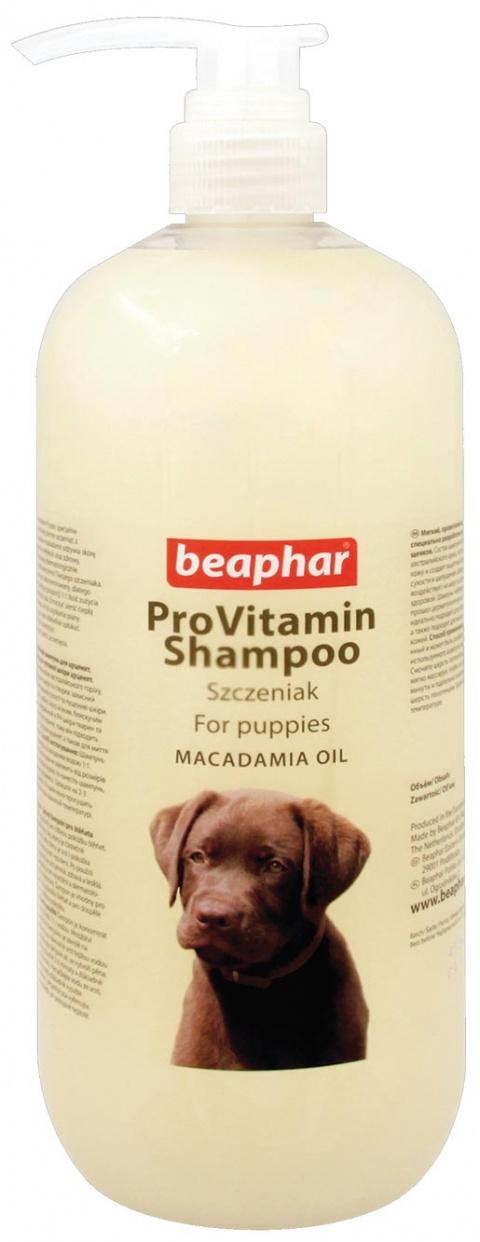 Beaphar šampon pro štěňata s makadamovým olejem 1l