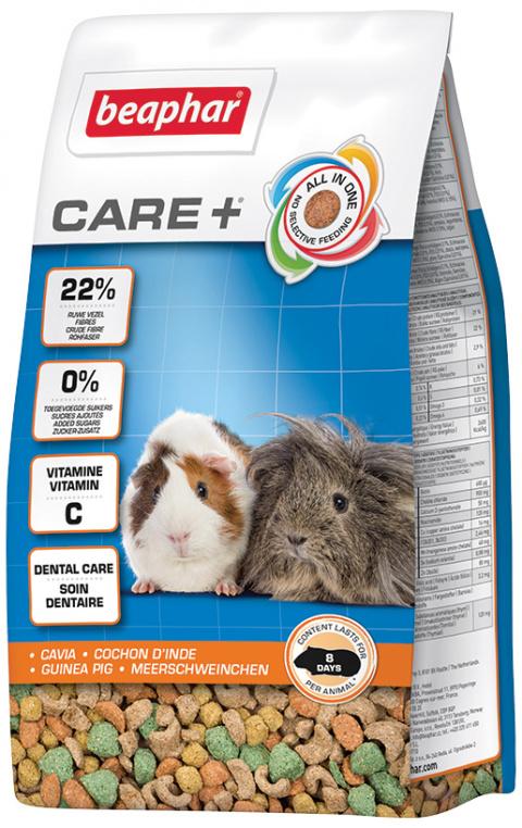 Krmivo Beaphar CARE+ Morče 250 g + Beaphar Care nálepka title=