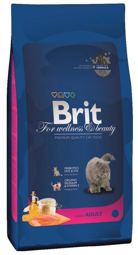 BRIT Premium Cat Salmon 1,5kg