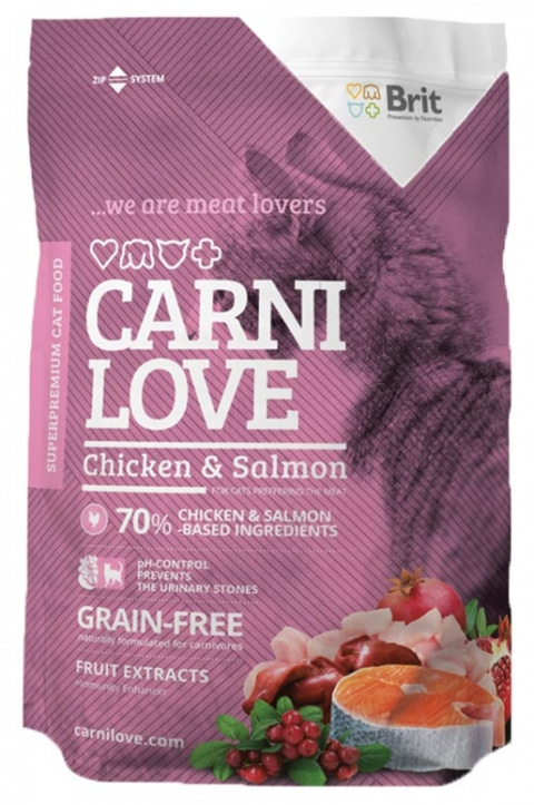 CARNILOVE Cat Chicken and Salmon 1,5kg