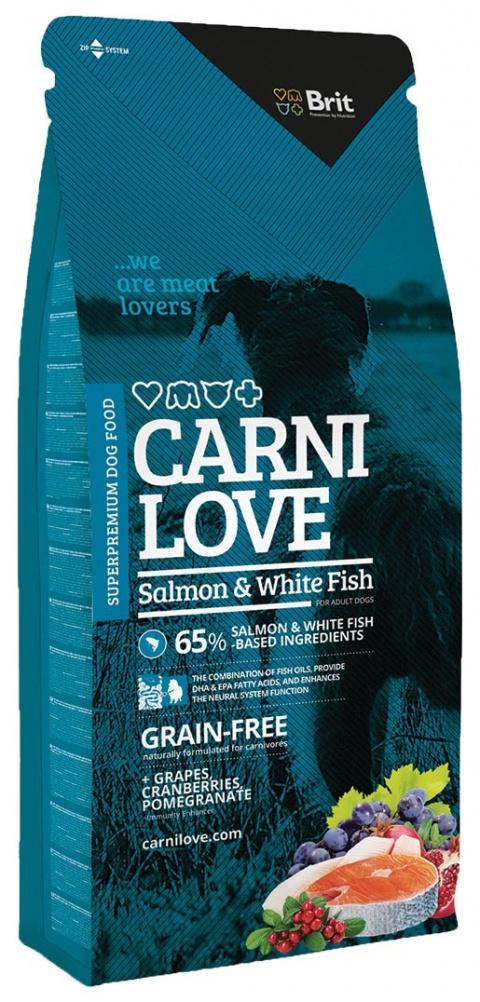 CARNILOVE Salmon and White Fish 12kg