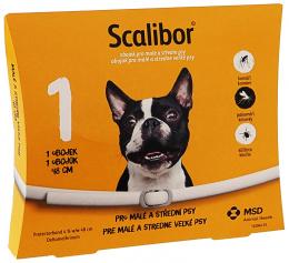 Obojek Scalibor antiparazitní malý 48cm