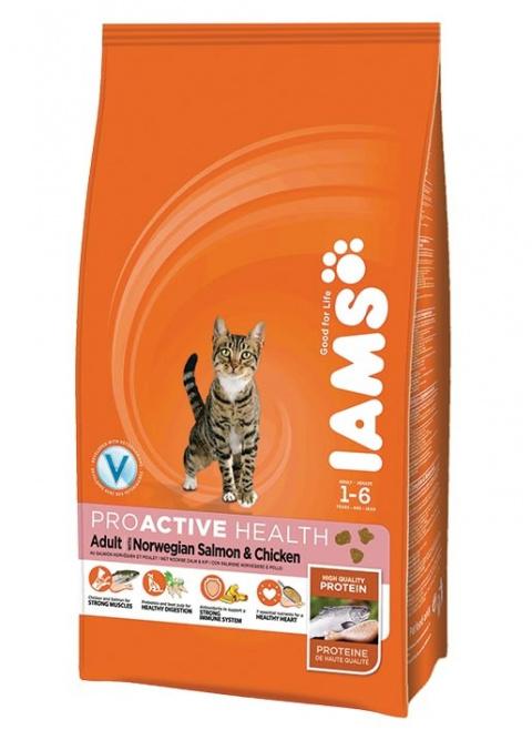 Iams Cat Adult Salmon title=