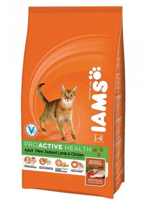 Iams Cat Adult Lamb title=
