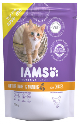 Iams Kitten & Junior Chicken