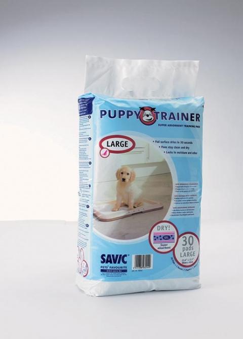 Náhradní podložky SAVIC Puppy trainer L 30ks title=
