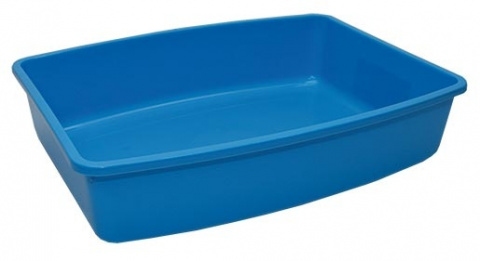 Toaleta Medium modrá