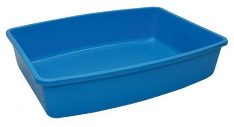 Toaleta Large modrá