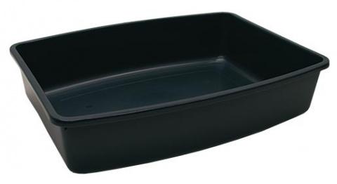 Toaleta SAVIC Jumbo černá