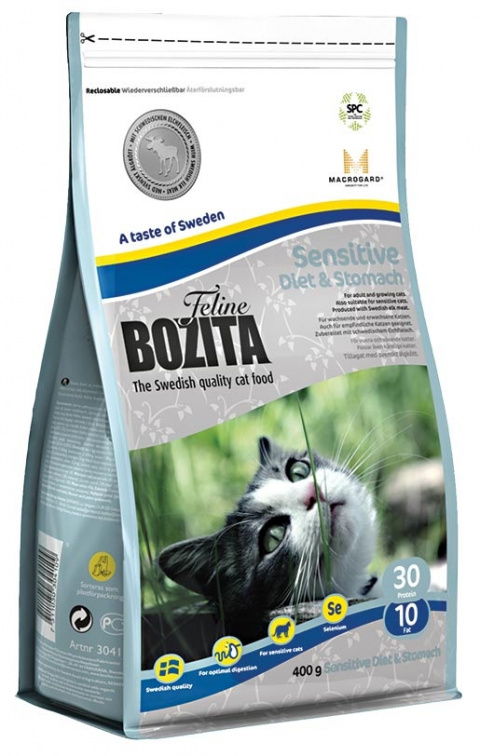 BOZITA Feline Diet & Stomach 0,4kg