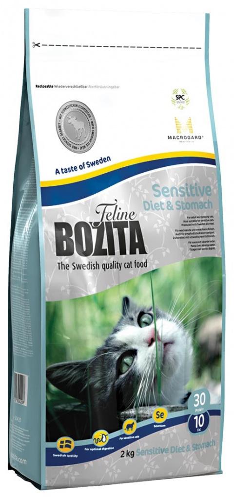BOZITA Feline Diet & Stomach 2kg