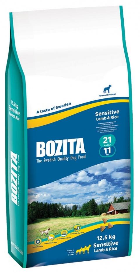 BOZITA Sensitive Lamb & Rice 12,5kg