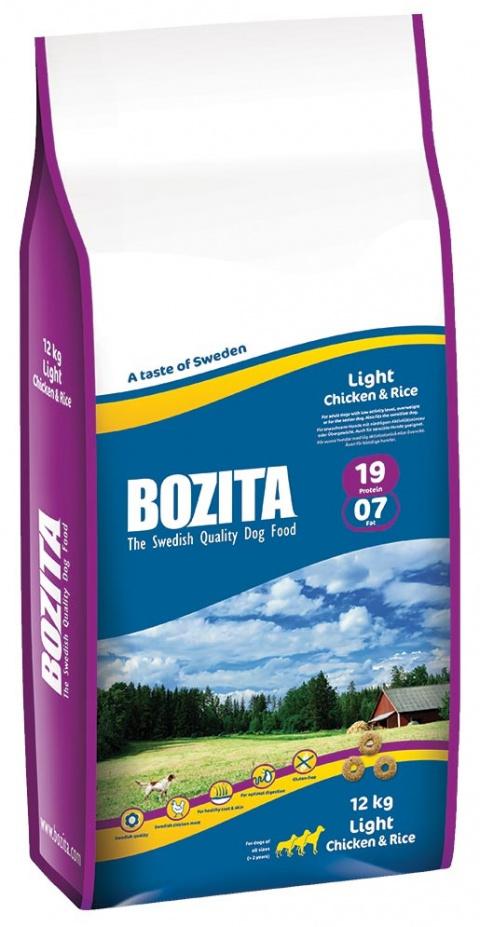 BOZITA Light Chicken & Rice 12kg