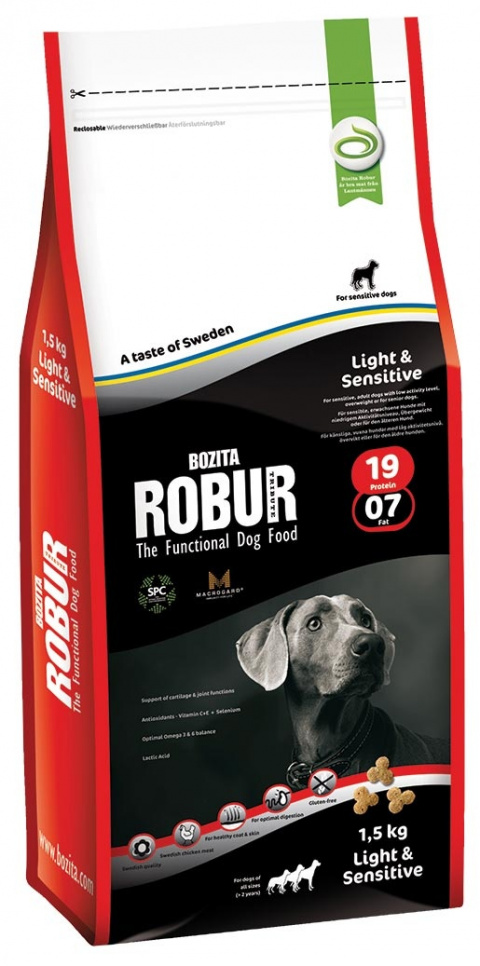 Robur Light & Sensitive 1.5kg