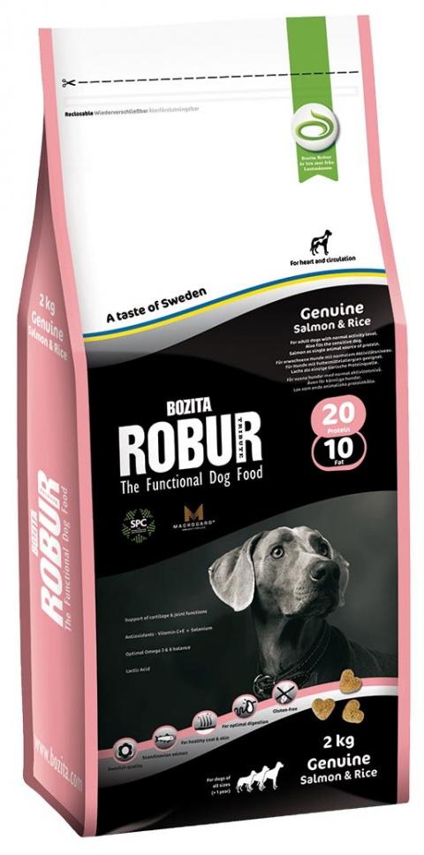ROBUR Genuine Salmon & Rice 2kg