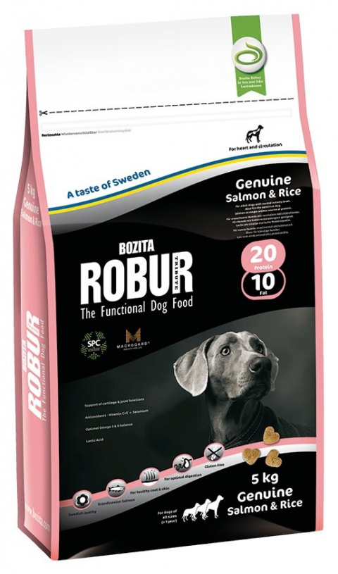 ROBUR Genuine Salmon & Rice 5kg
