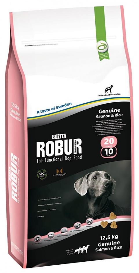 ROBUR Genuine Salmon & Rice 12.5kg